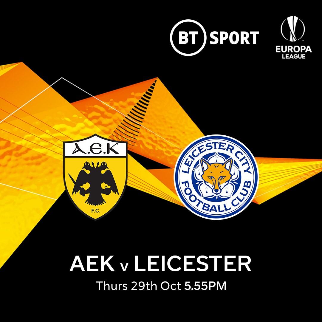 AEK Athens v Leicester City (Europa League)