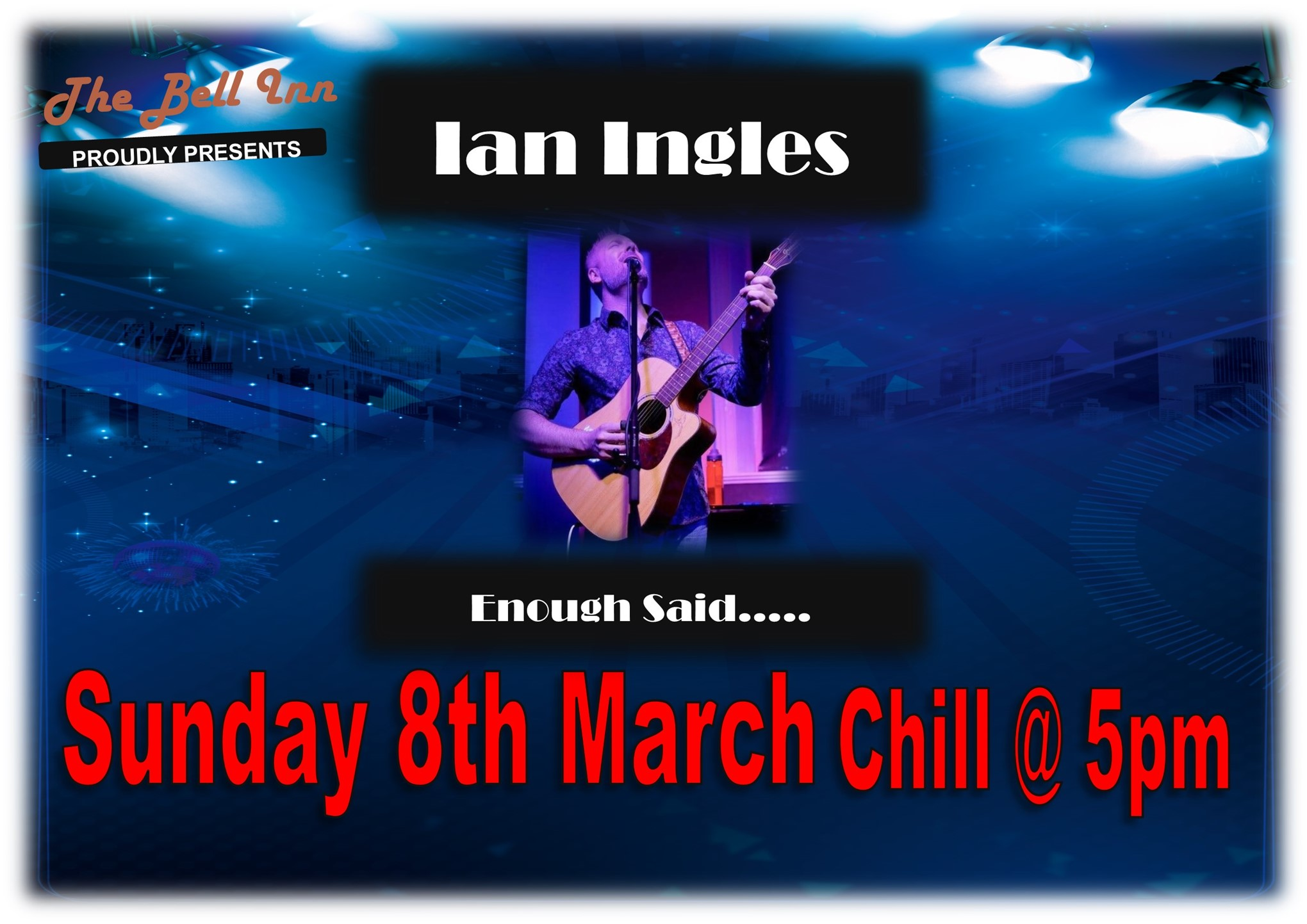 Sunday sessions with Ian Ingles