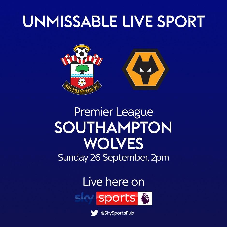 Southampton v Wolverhampton Wanderers (Premier League)