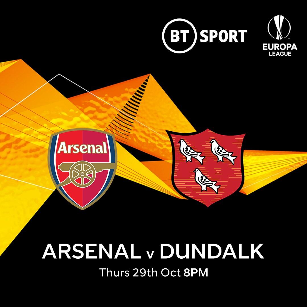 Arsenal v Dundalk (Europa League)