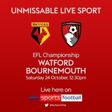 Watford v Bournemouth (Football League)