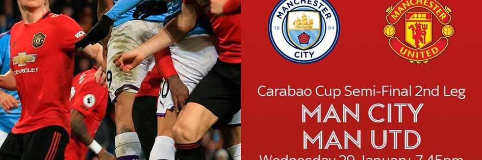 Manchester City v Manchester United (EFL Cup)