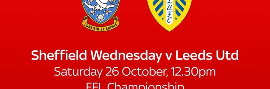 Sheffield Wednesday v Leeds United (Football League)