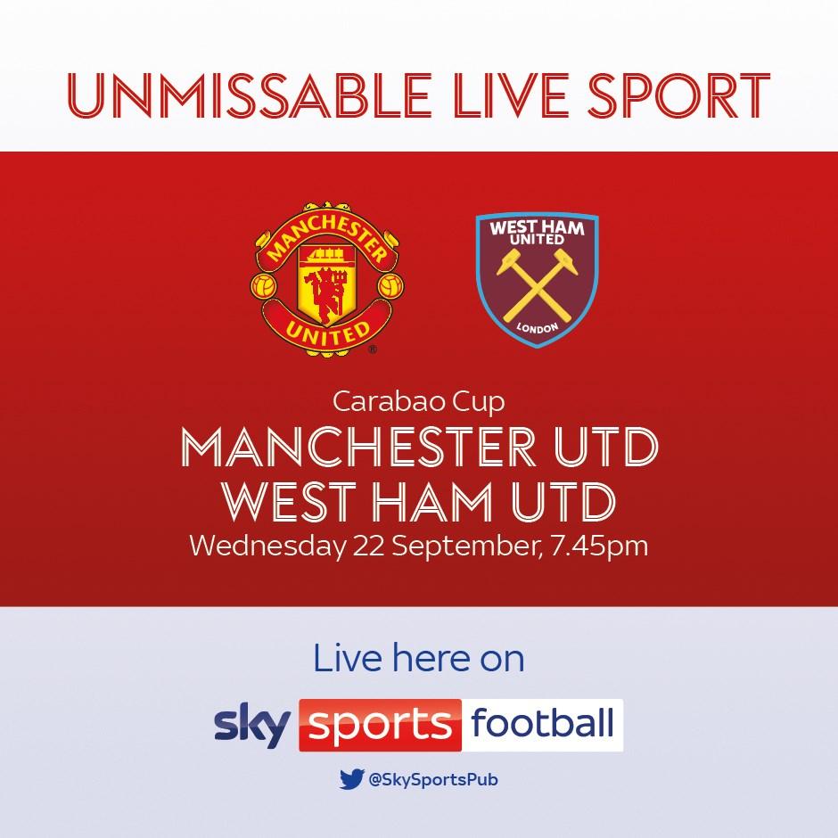 Manchester United v West Ham United (EFL Cup)