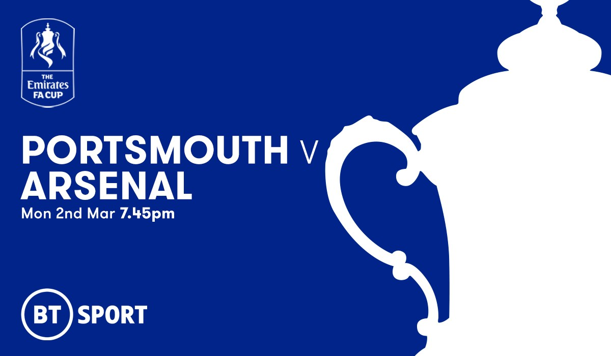 Portsmouth v Arsenal (FA Cup)