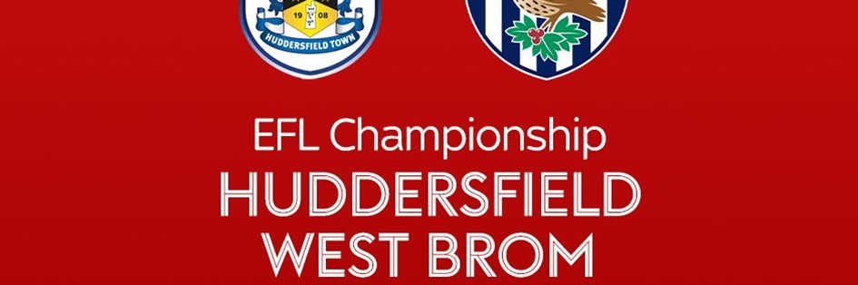 Huddersfield Town v West Bromwich Albion (Football League)