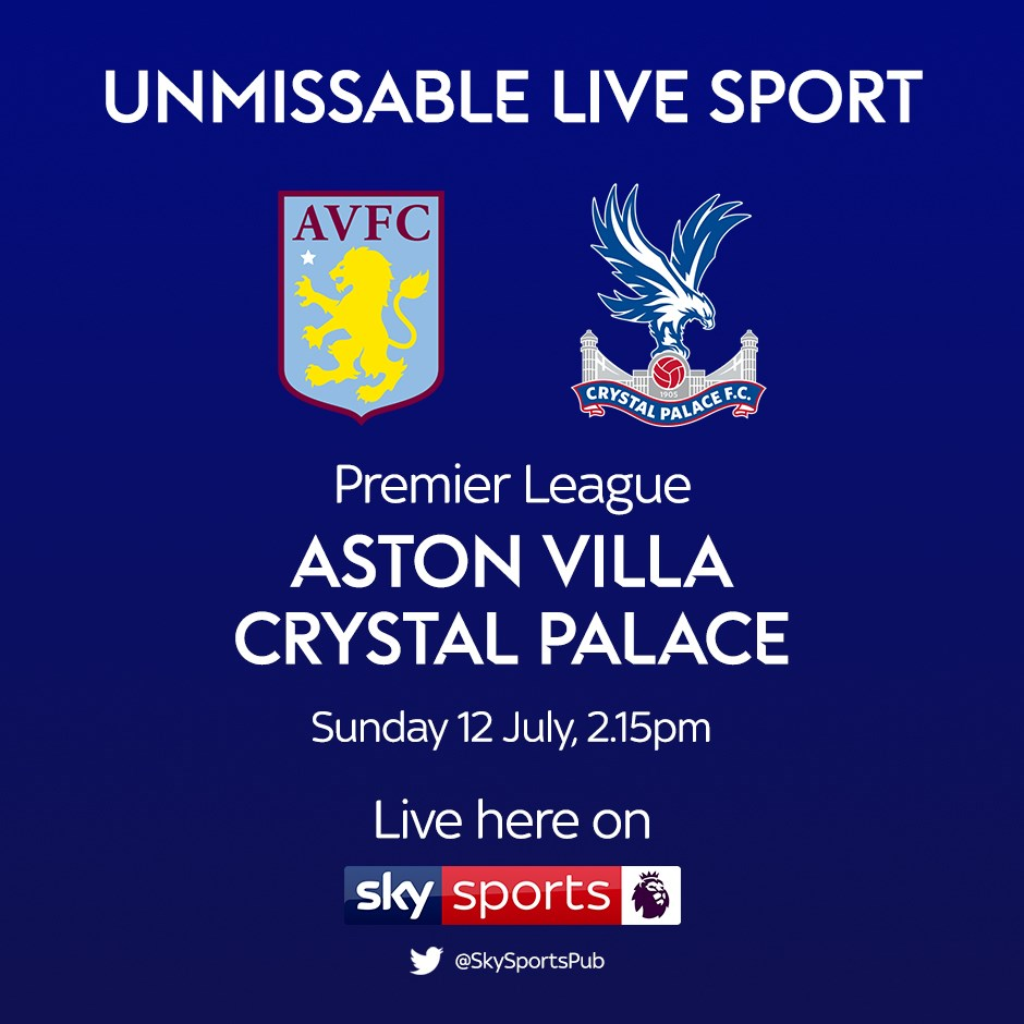 Aston Villa v Crystal Palace (Premier League)