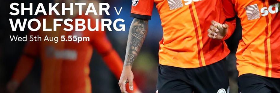Shakhtar Donetsk v Wolfsburg (Europa League)