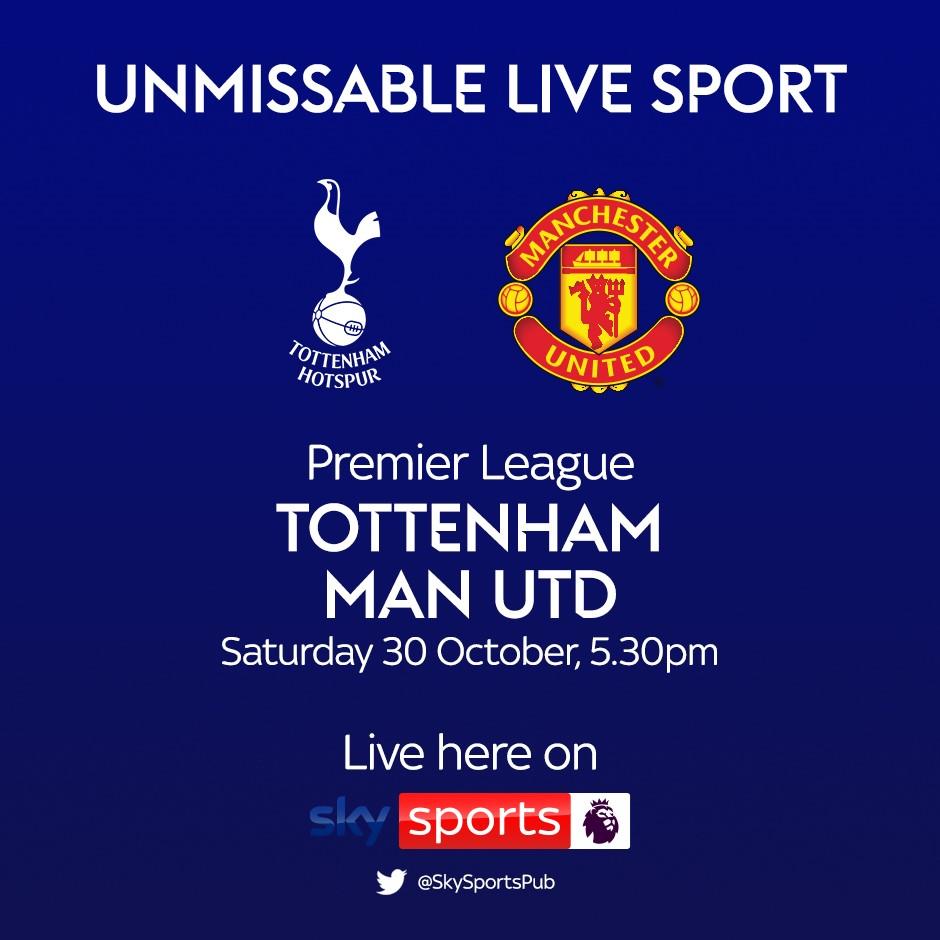 Tottenham Hotspur v Manchester United (Premier League)