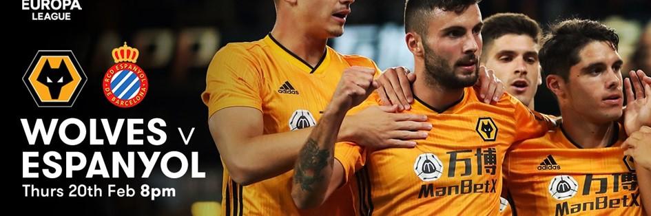 Wolves v Espanyol (Europa League)