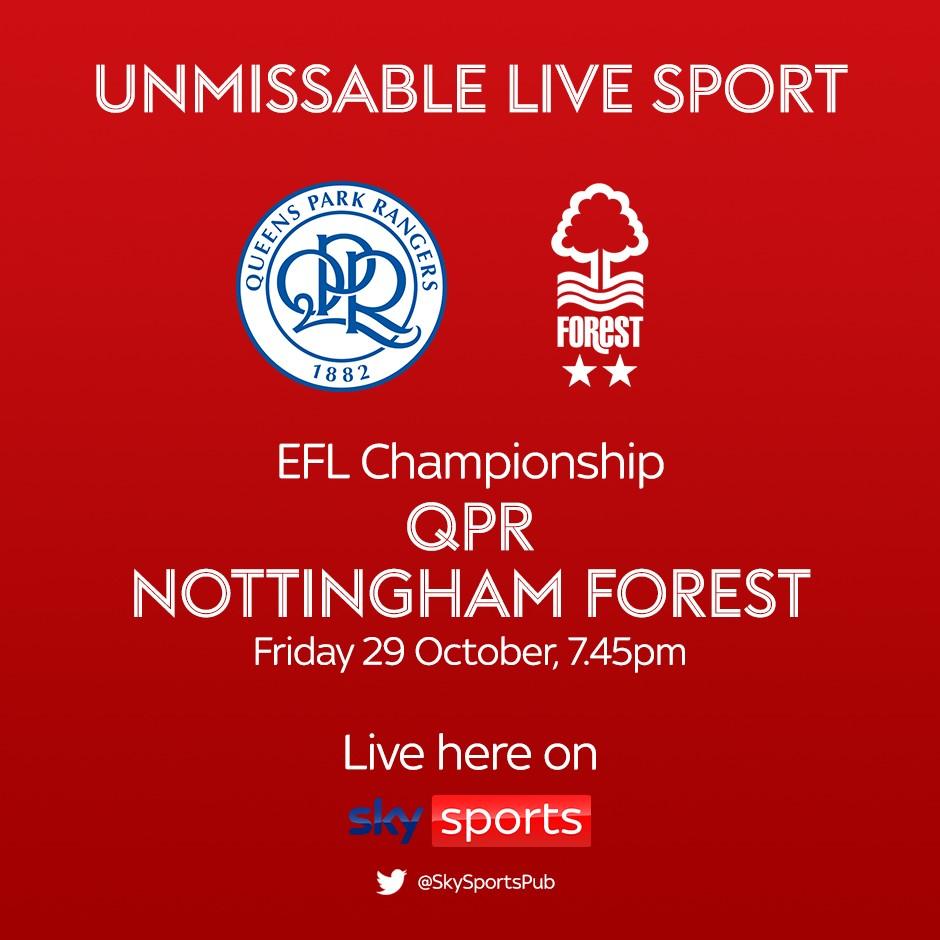 QPR v Nottingham Forest (Football League)