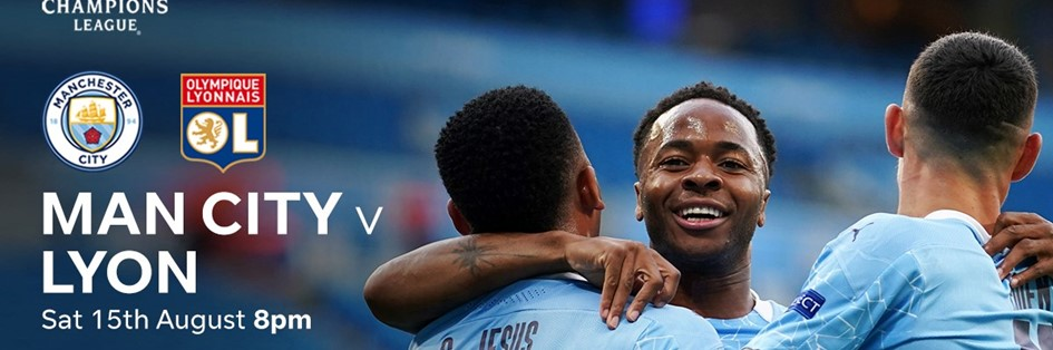 Man City v Lyon (Champions League)