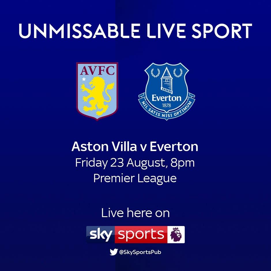 Aston Villa v Everton (Premier League)