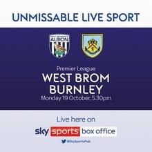 West Bromwich Albion v Burnley (Premier League)