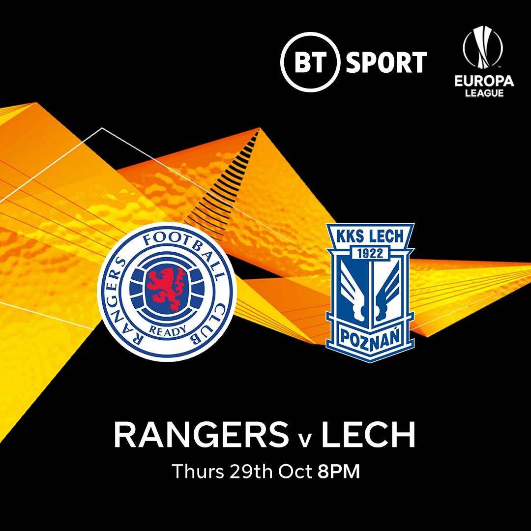 Rangers v Lech Poznan (Europa League)