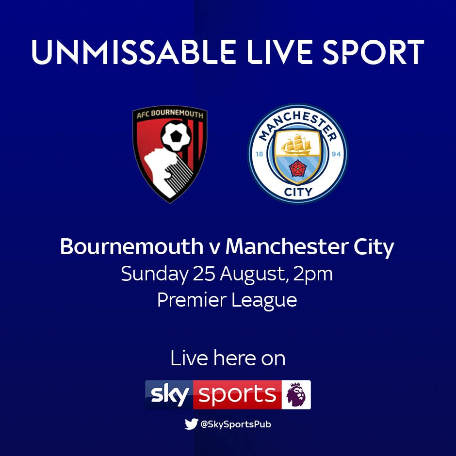 Bournemouth v Manchester City (Premier League)