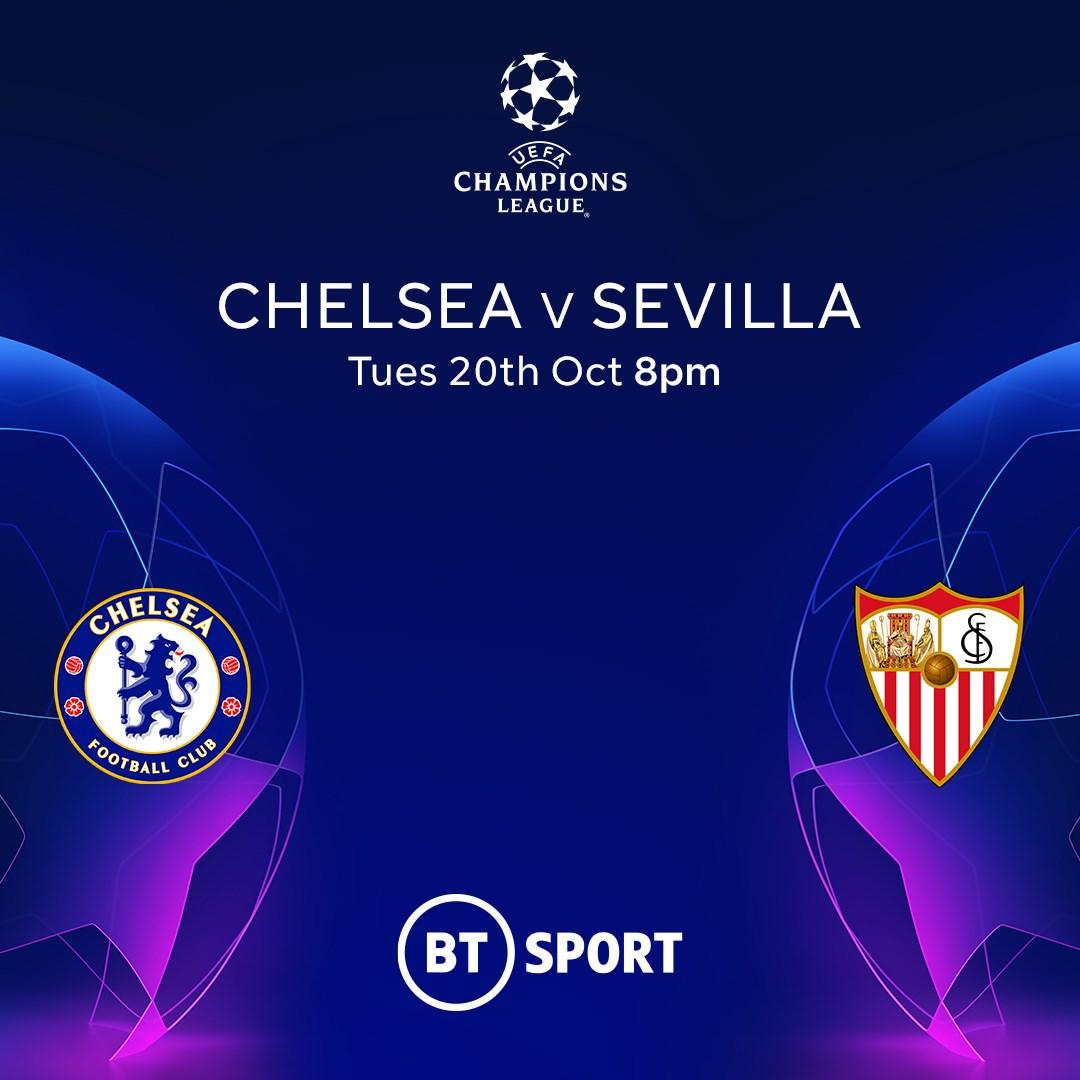 Chelsea v Sevilla (Champions League)