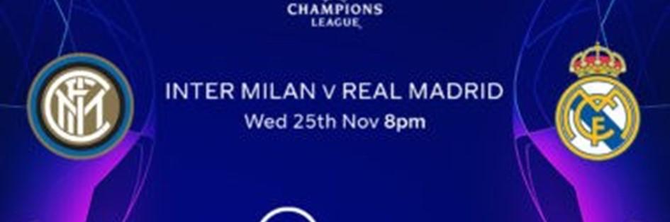 Inter Milan v Real Madrid (Champions League)