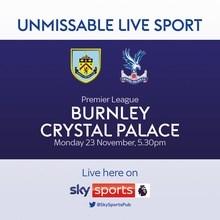 Burnley v Crystal Palace (Premier League)