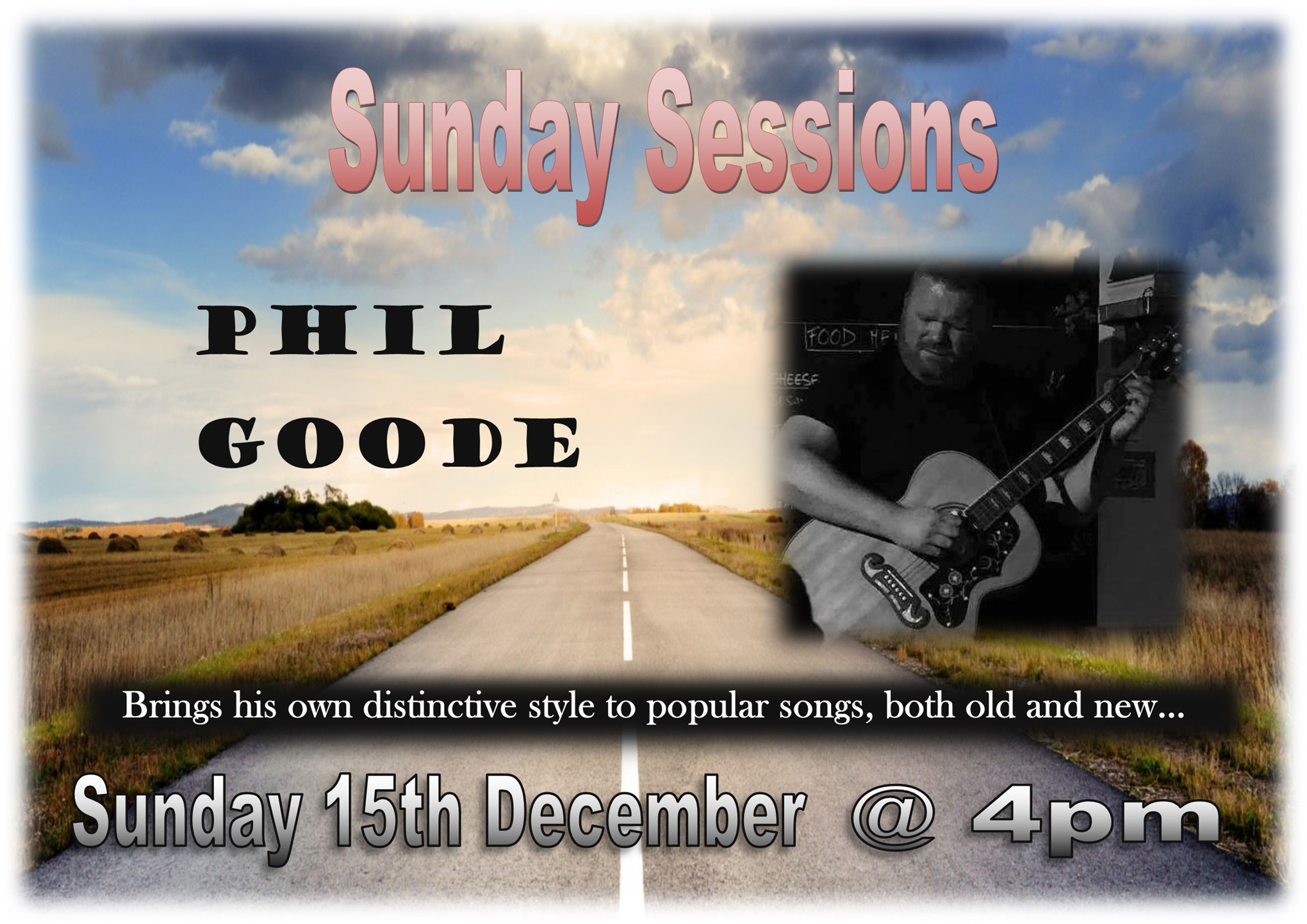 Sunday Sessions with Phil Goode