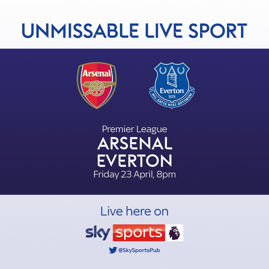 Arsenal v Everton (Premier League)