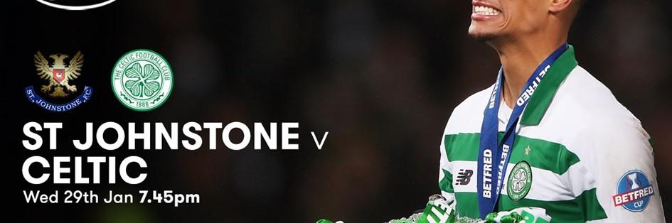 St. Johnstone v Celtic (Scottish Premier League)