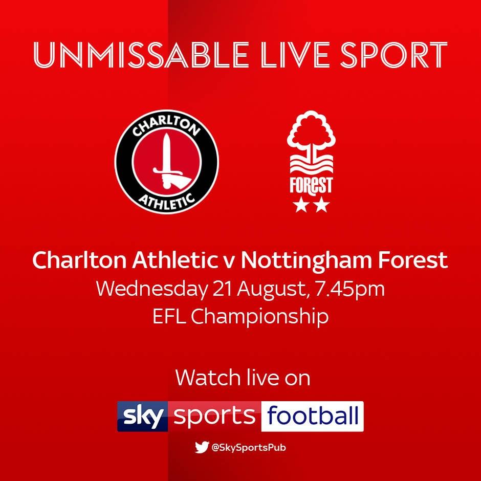 Charlton v Nottingham Forest (Football League)