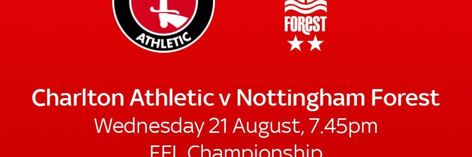 Charlton v Nottingham Forest (Football League)