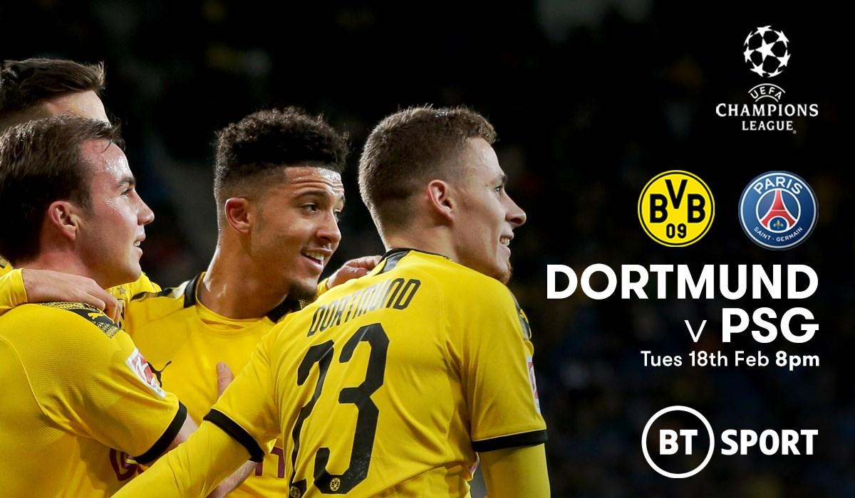 Borussia Dortmund v PSG (Champions League)
