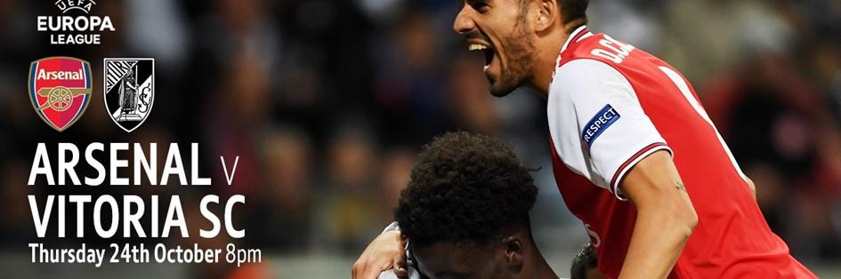 Arsenal v Vitoria (Europa League)