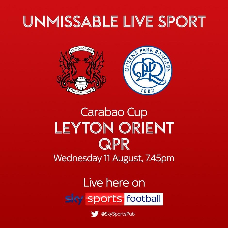 Leyton Orient v Queens Park Rangers (EFL Cup)