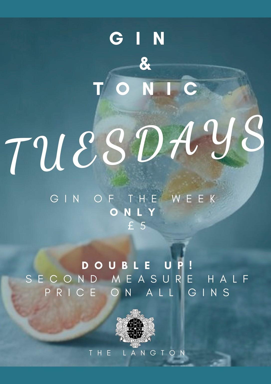 Gin & Tonic Tuesdays