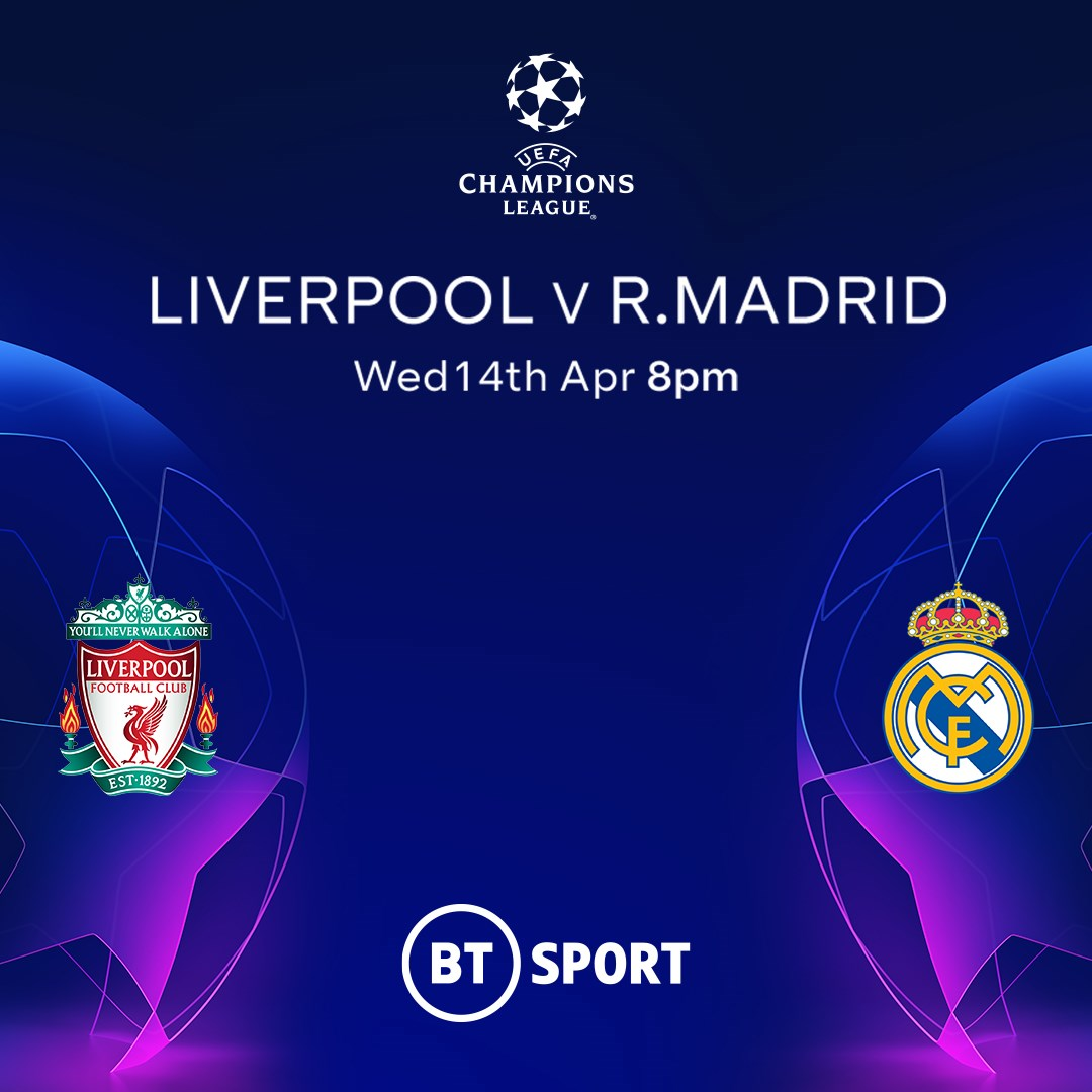 Liverpool v Real Madrid (Champions League)