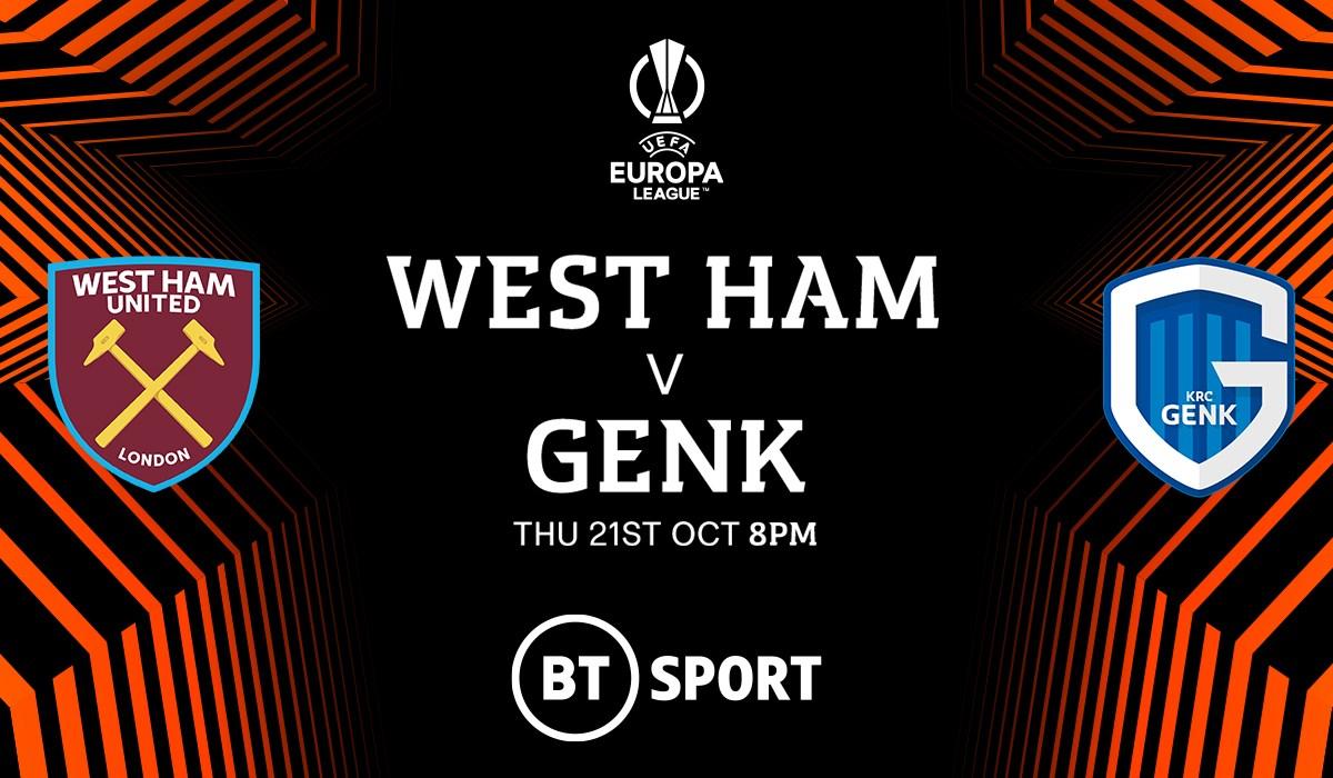 West Ham United v Genk (Europa League)