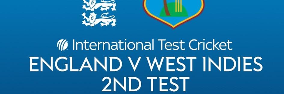 Cricket Test Match: England v West Indies (Cricket England Test Match)