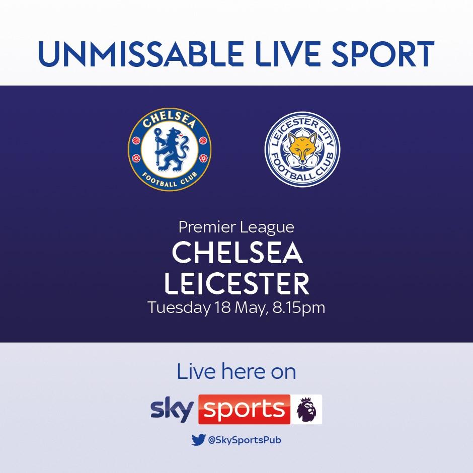 Chelsea v Leicester City (Premier League)