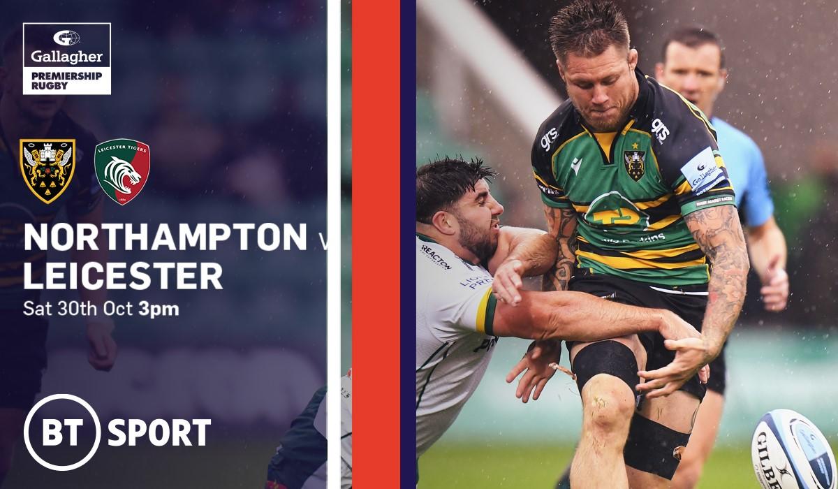 Northampton Saints v Leicester Tigers (Rugby Union - English Premiership)