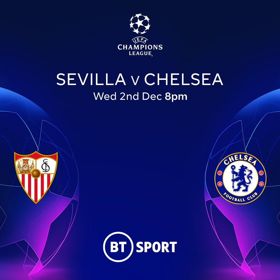 Sevilla v Chelsea (Champions League)
