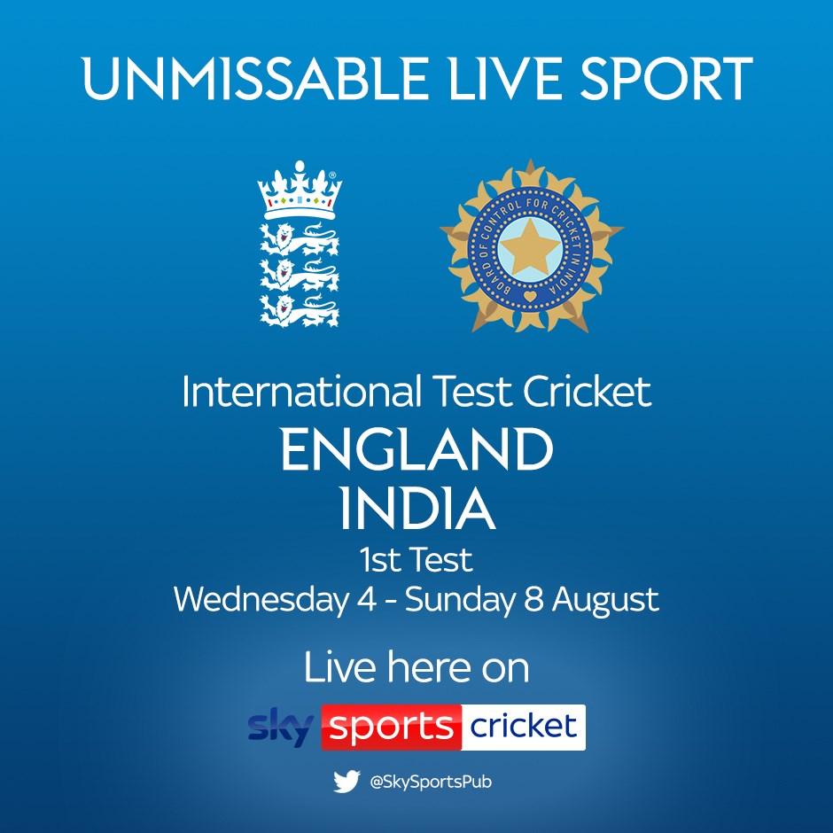 Cricket Test Match: England v India (Cricket England Test Match)