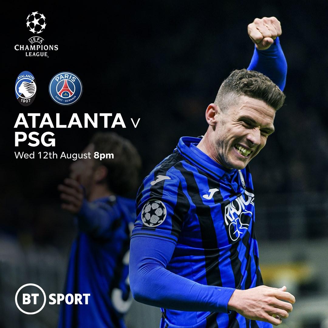 Atalanta v PSG (Champions League)
