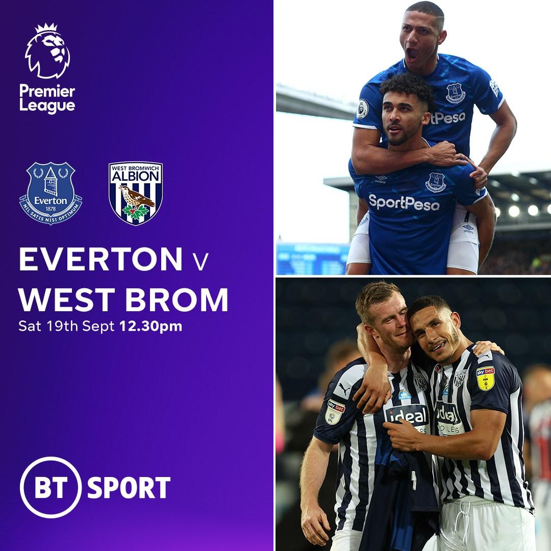 Everton v West Brom (Premier League)