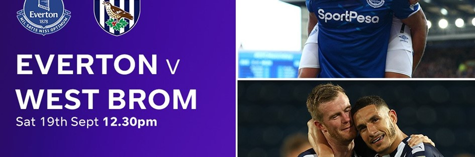 Everton v West Brom (Premier League)