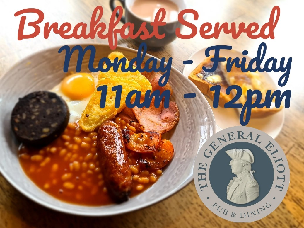 We Are Now Serving Breakfast!!