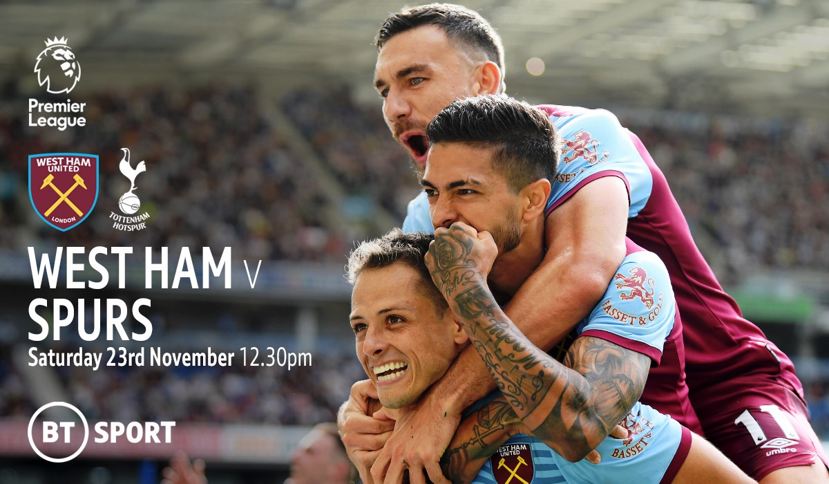 West Ham United v Tottenham (Premier League)
