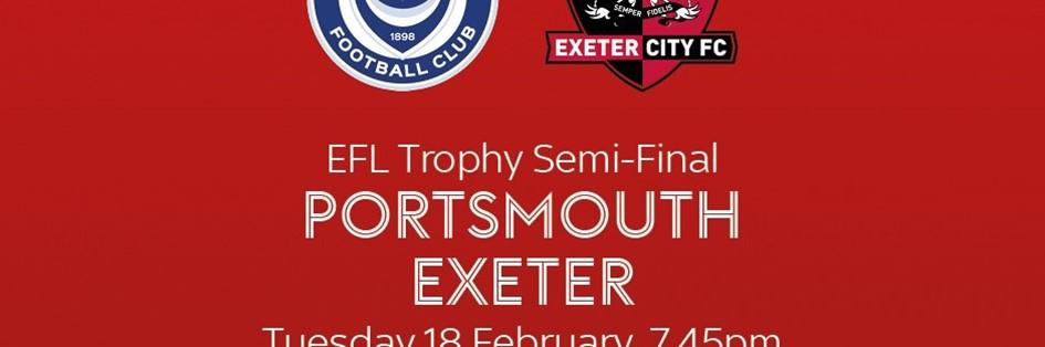 Portsmouth v Exeter City (Football League)