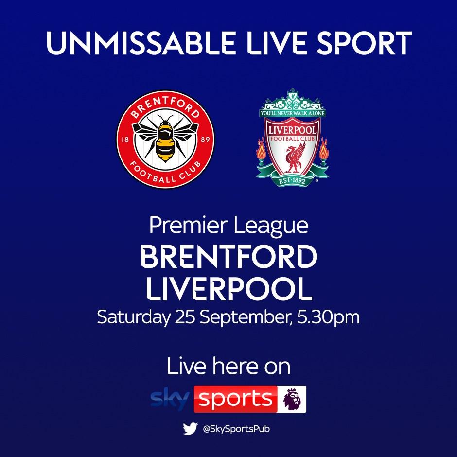 Brentford v Liverpool (Premier League)