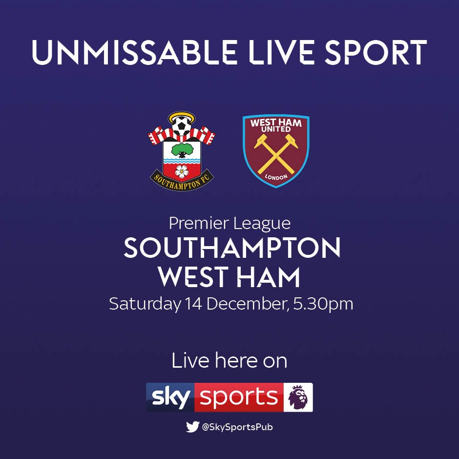 Southampton v West Ham United (Premier League)
