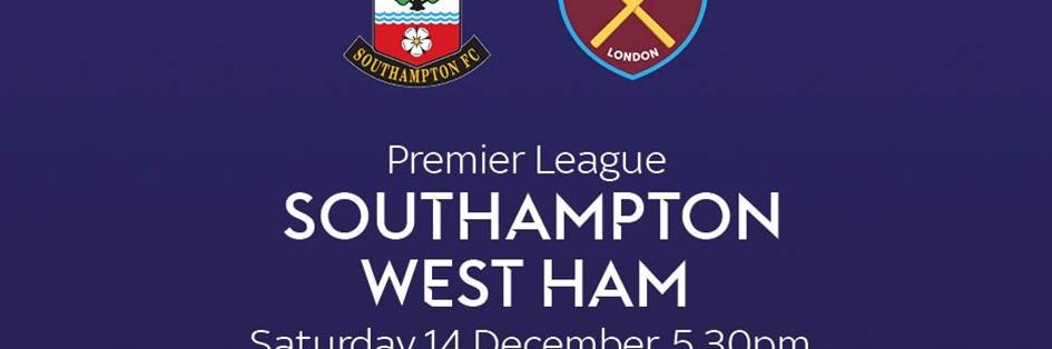 Southampton v West Ham United (Premier League)