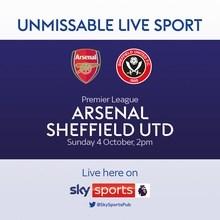 Arsenal v Sheffield United (Premier League)