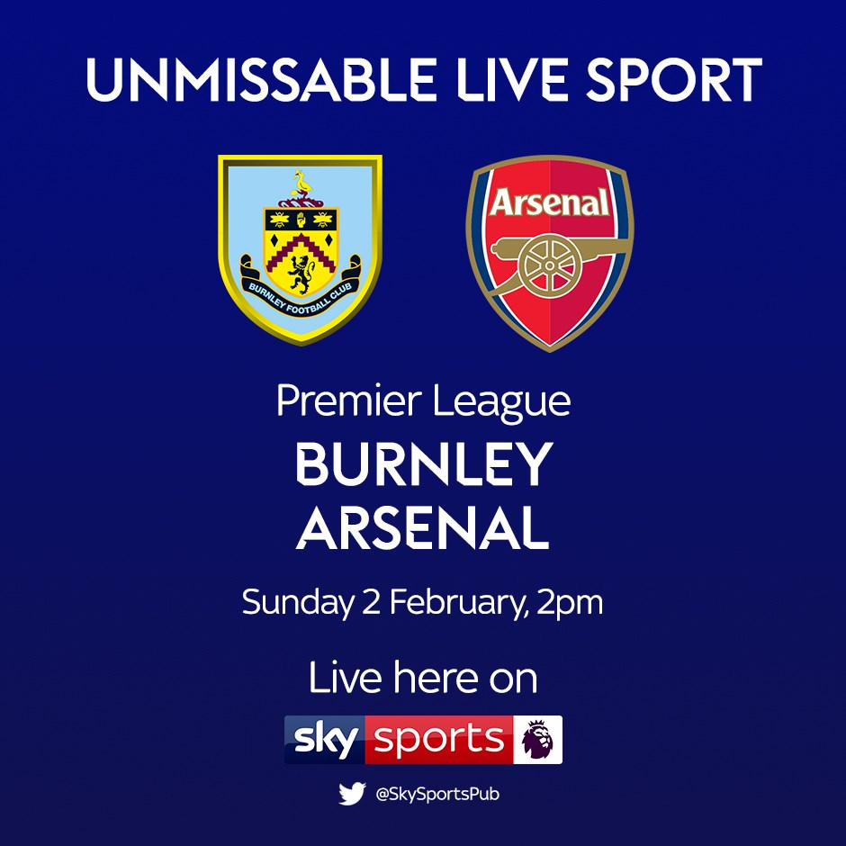 Burnley v Arsenal (Premier League)